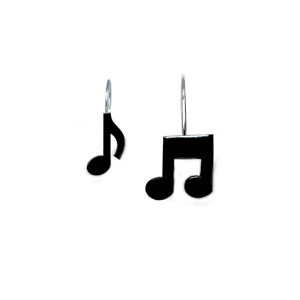 Buy Musical Note Shower Curtain Hooks Music Gift Music Novelty
