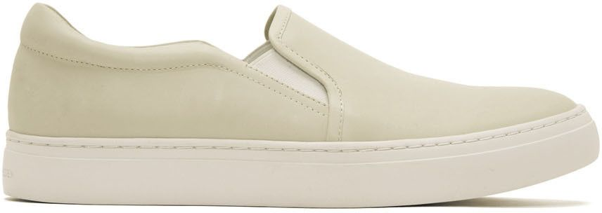 Tiger of Sweden Off-White Andover Slip-On Sneakers 2KdNLk