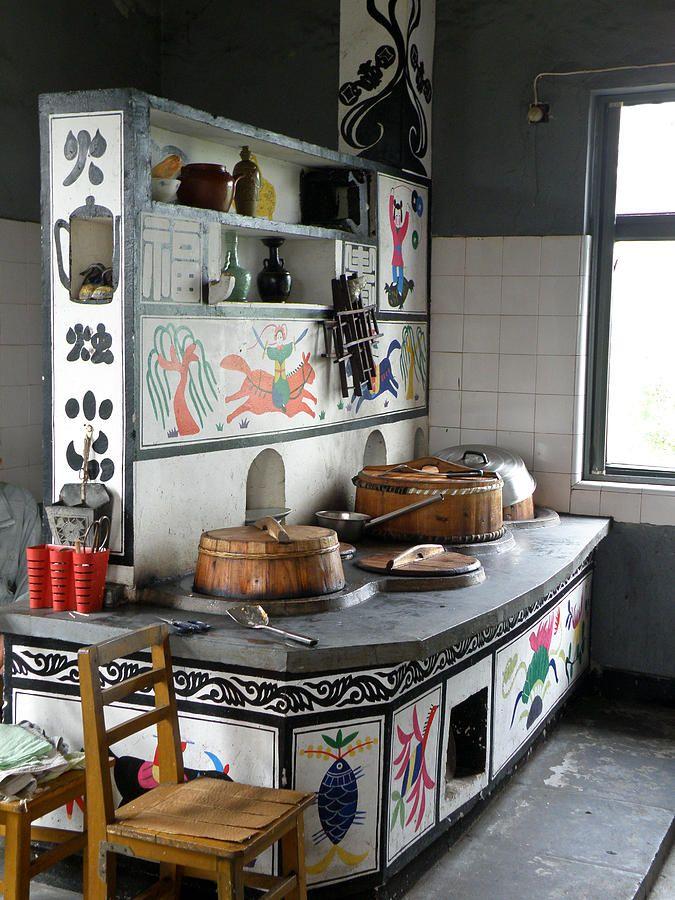 Chinese Kitchen Brilliant Ideas Still Photograph A Cool Chinese Kitchen Jpg 675 900 Kitchen Design Small Kitchen Design Asian Interior Design