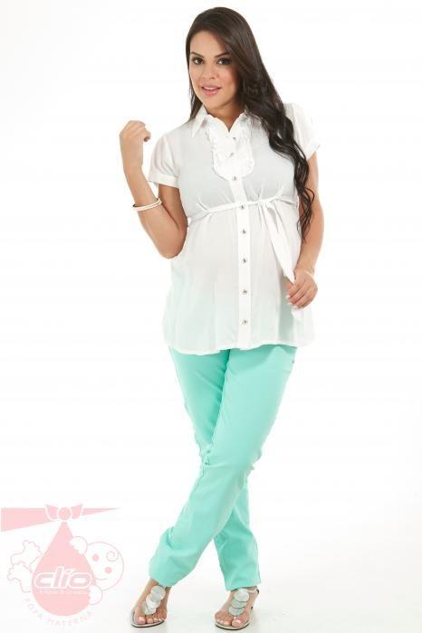 d8593ca06 Catálogo ropa materna 2014 Blusa Materna