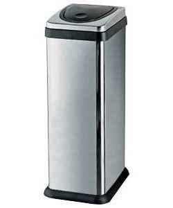 Brabantia Touch Bin Afvalverzamelaar 30 Liter.30 Litre Rectangular Press Top Kitchen Bin Silver Kitchen Ideas