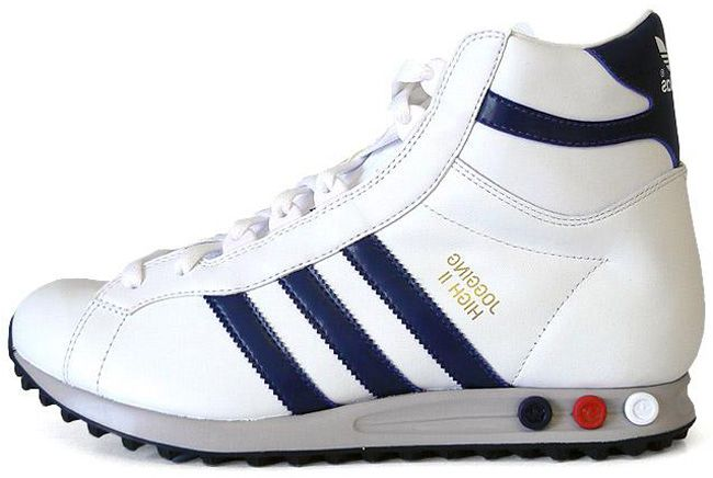 adidas Originals Jogging Hi | White / Navy - EU Kicks: Sneaker Magazine