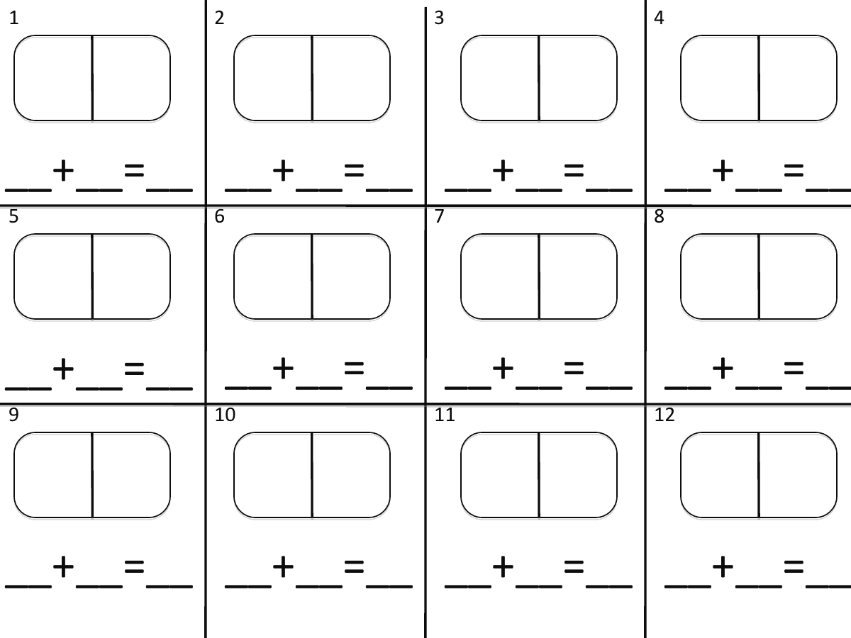 Math Worksheet Everyday Math Math Number Sense