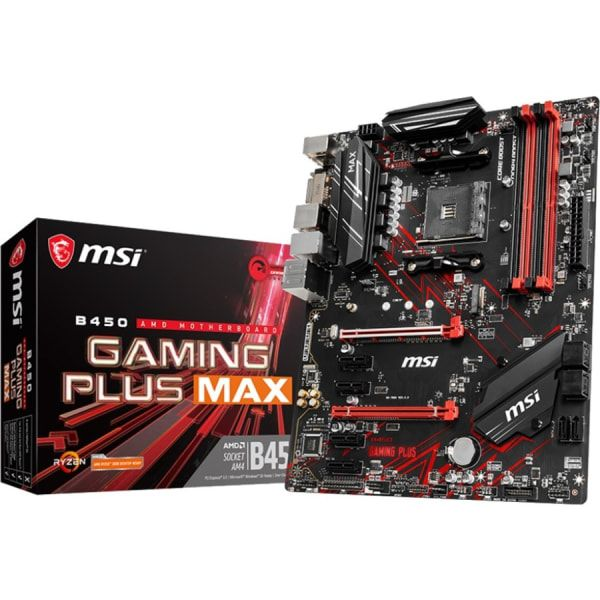Lightning Fast Game experience: TURBO M.2, AMD Turbo USB 3.2 GEN2, StoreMI Technology  Supports 1st, 2nd and 3rd Gen AMD Ryzen™ / Ryzen™ with Radeon™ Vega Graphics and 2nd Gen AMD Ryzen™ with Radeon™ Graphics / Athlon™ with Radeon™ Vega Graphics Desktop Processors for Socket AM4  Supports DDR4 Memory, up to 4133(OC) MHz