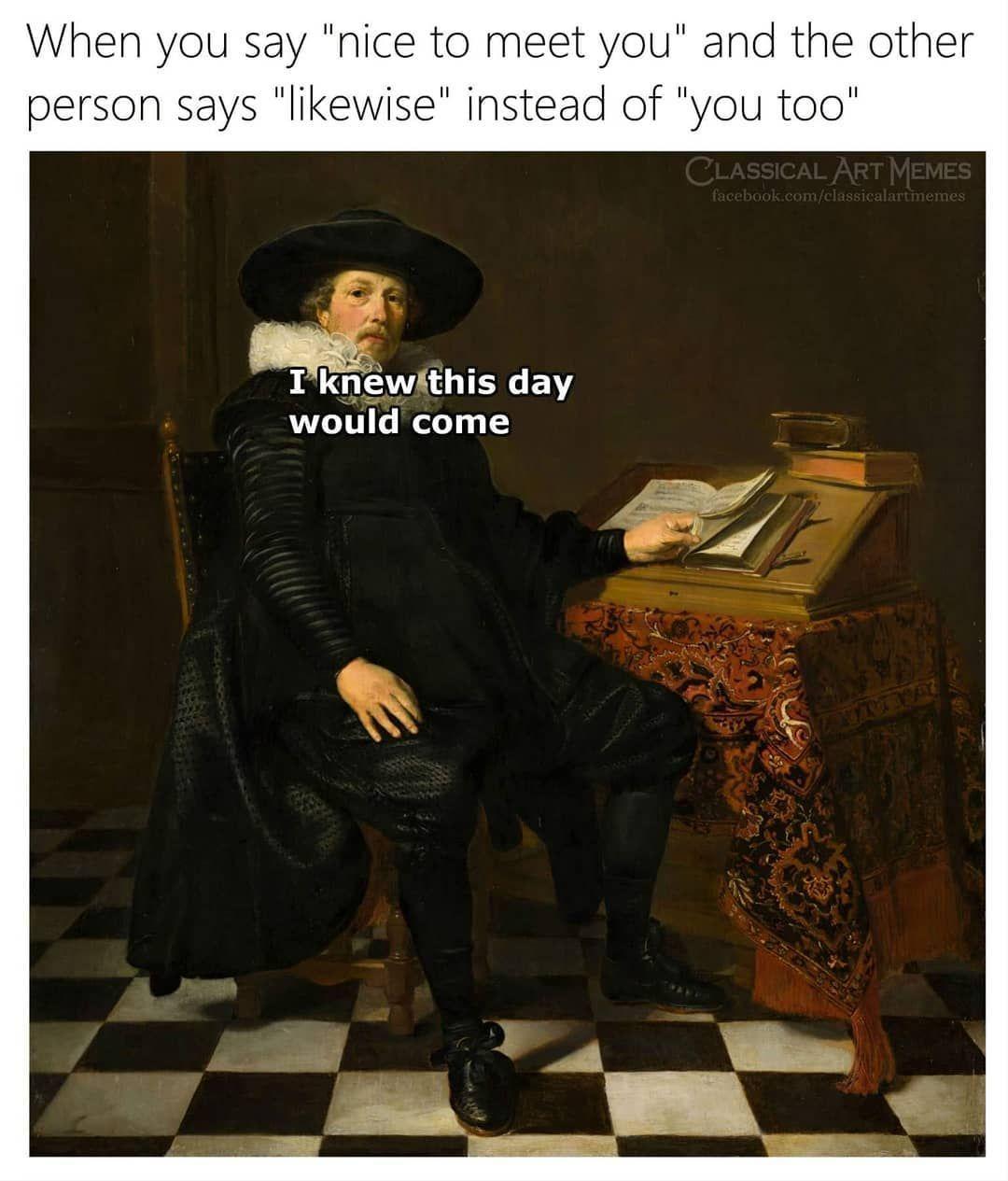 Classical Art Memes Teacher