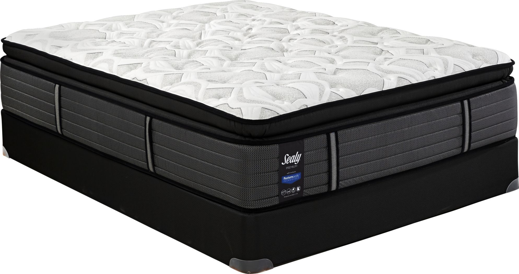 Sealy Premium Sunset Key Queen Mattress with Reverie O200 ...