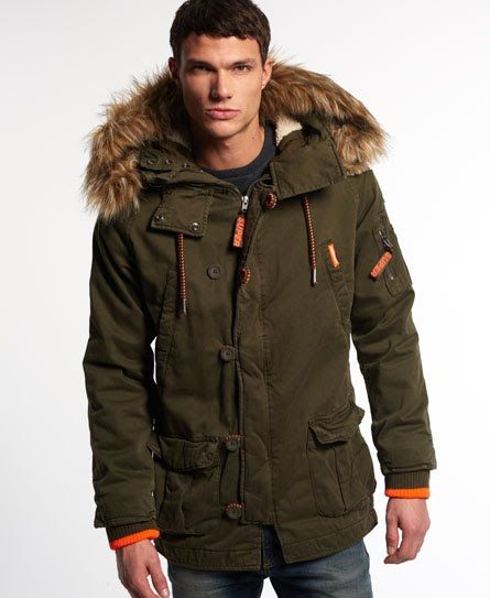 Superdry Rookie Heavy Weather Parka Jacket | Superdry parkar ...