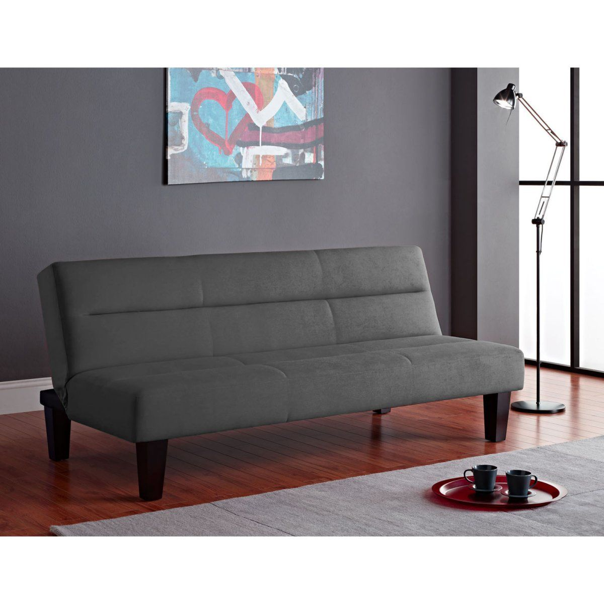 ameriwood kebo futon  charcoal ameriwood kebo futon  charcoal   one day i will have my own place      rh   pinterest