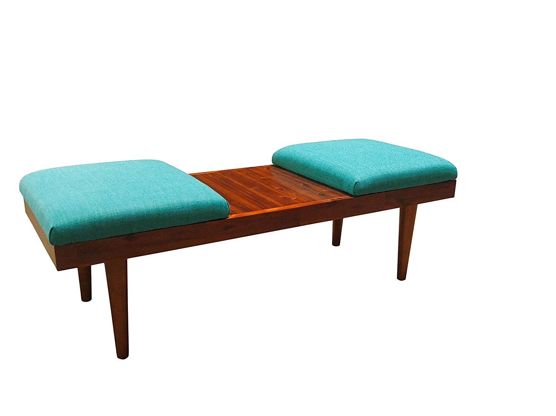 Design 59 Inc Retro Mid Century Modern Acacia Wood Coffee Table Ottomans Or Bench Coffee Table Wood Ottoman Coffee Table Ottoman [ 1125 x 1500 Pixel ]