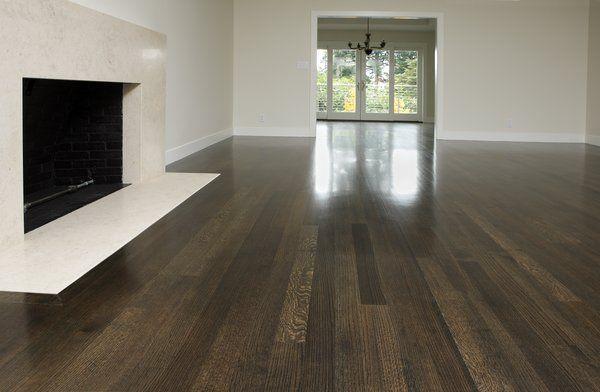 Dark Stain On White Oak Floors Staining Wood