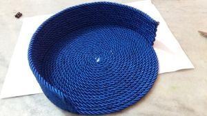 Cómo hacer una bolsa de cuerda