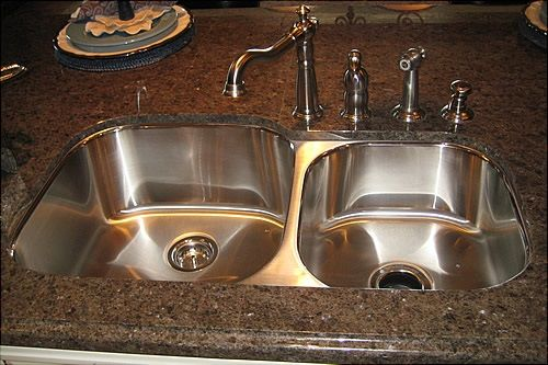 4 reasons why you should install an under mount kitchen sink home rh pinterest com