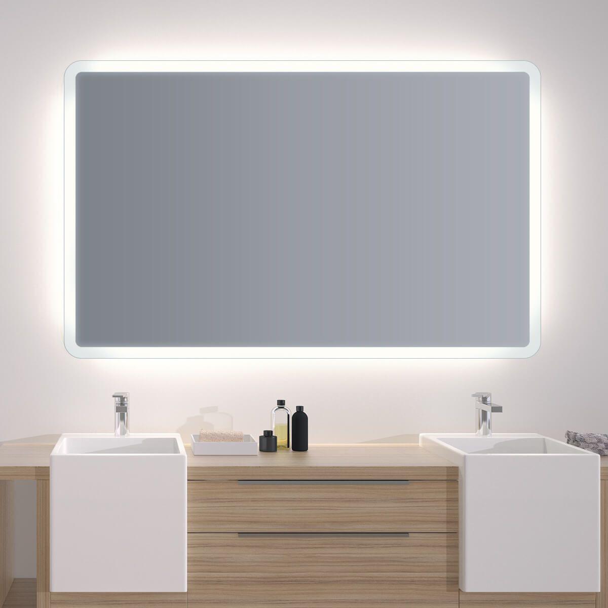 Badezimmerspiegel Grau Badmobel Set Badezimmer Bad Hochschrank