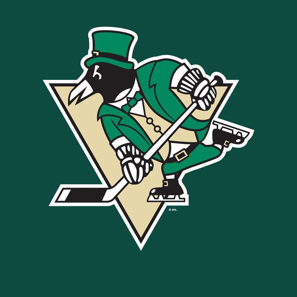 buy online 15211 8e804 Happy St. Patrick's Day from the Pittsburgh Penguins ...