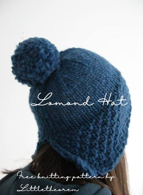 Free knitting pattern for a cute earflap hat by ...
