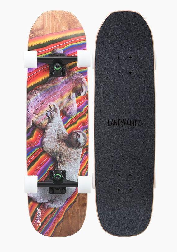 Landyachtz: ATV Series Sloth Longboard Skateboard Complete