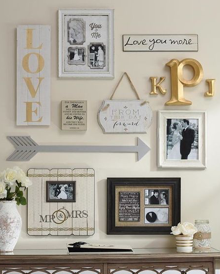 From finials to wall plaques and printed pillows to frames, arrow ...