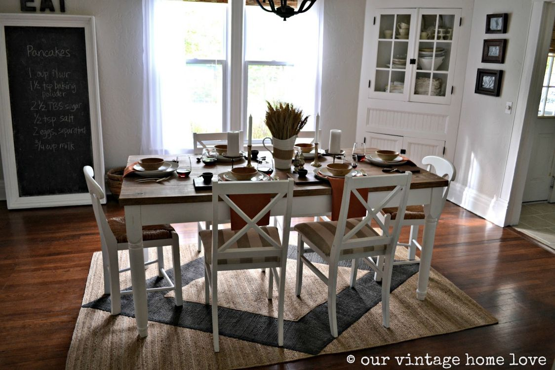 Rugs For Under Dining Room Table