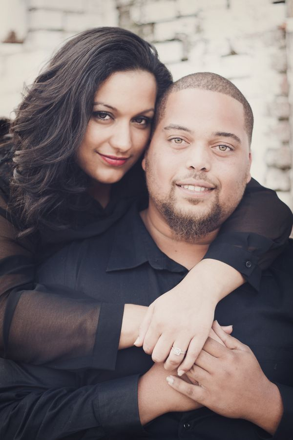 Photo of {Real Curvy Engagement} Chic Urban Love in Kansas | YBM Photography – The Pretty Pear Bride – Plus Size Bridal Magazine