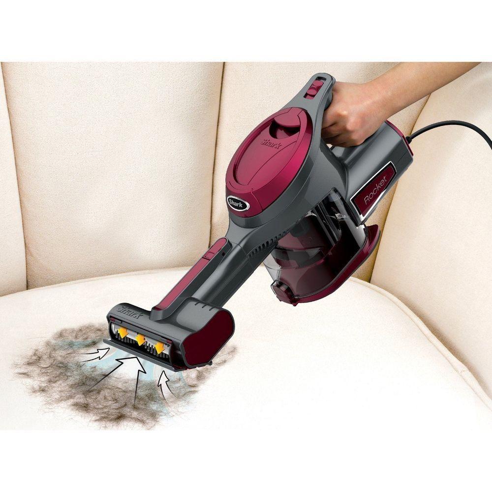 Handheld vacuum cleaner pet hair corded bagless