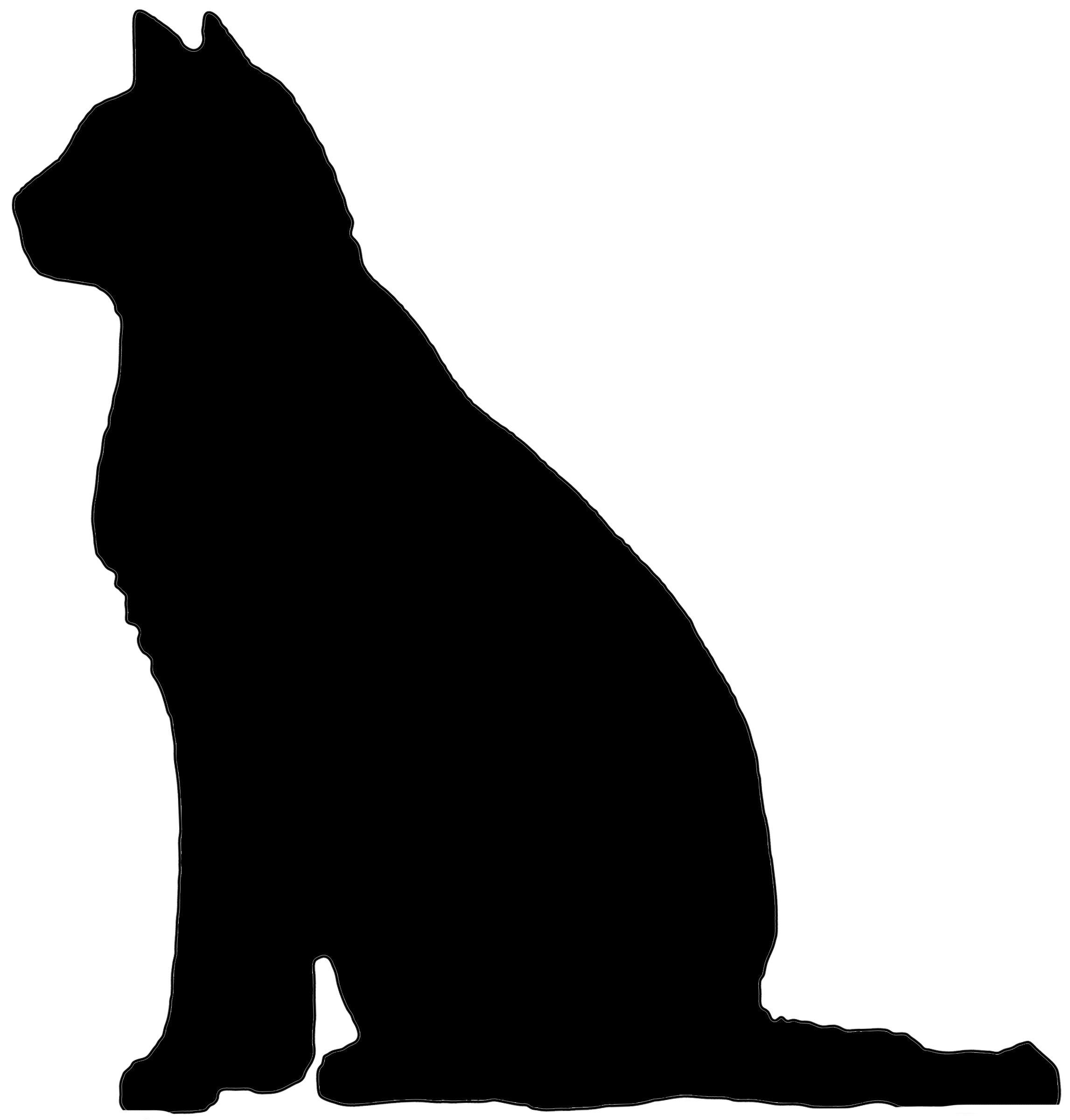 Cat Sittingdoor topper - Rustic Crafts