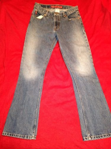 Womens Guess Jeans Size 26 Straight Leg Juniors Denim Jeans 26X30 90's Era $20 #guessjeans #straightleg #denim #bluejeans #classic