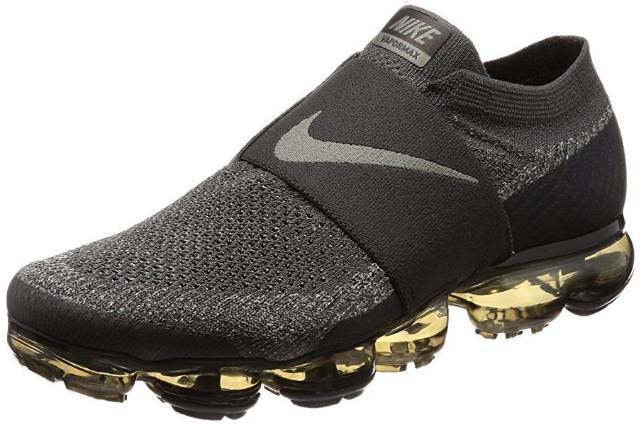 Amazon.com | Nike Men's Air Vapormax Flyknit Moc Midnight Fog/Dark Stucco/