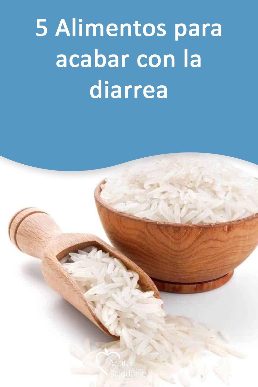Dieta para diarrea y dolor de estomago