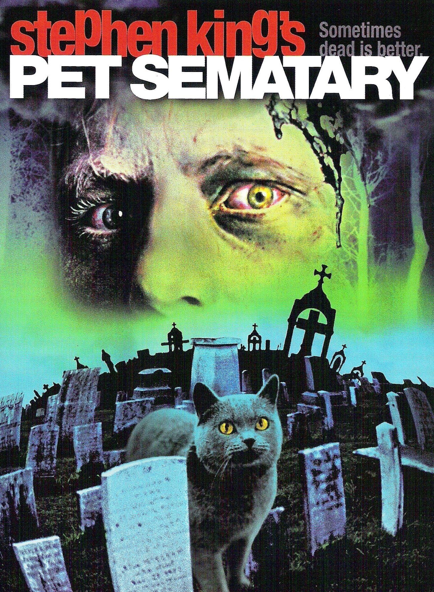 Pet Sematary Cementerio De Animales Peliculas De Terror Películas Clásicas De Terror