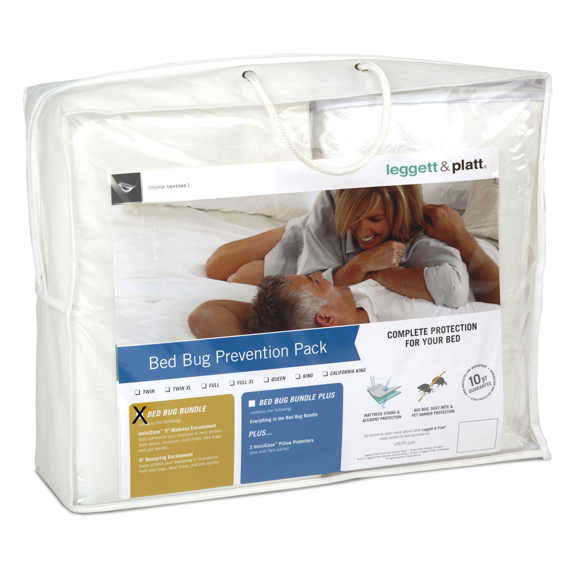 Leggett & Platt Bed Bug Prevention Pack with InvisiCase 9