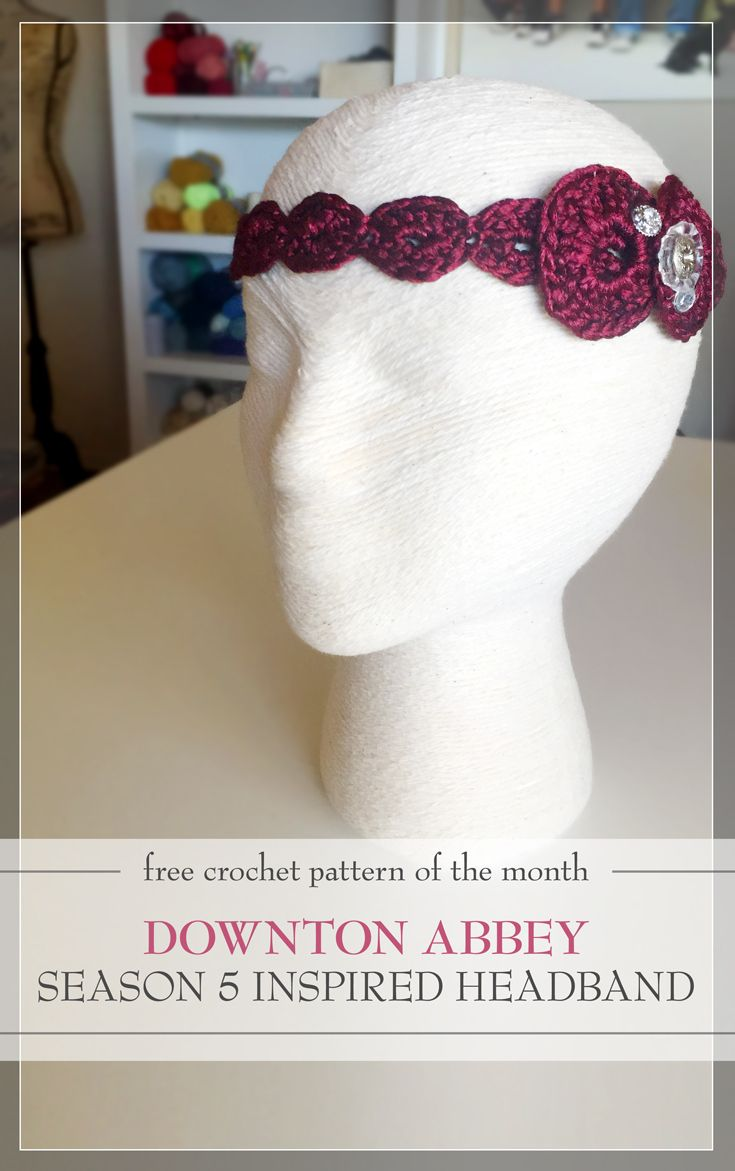 downton abbey season 5 inspired headband | Labores Creativas ...