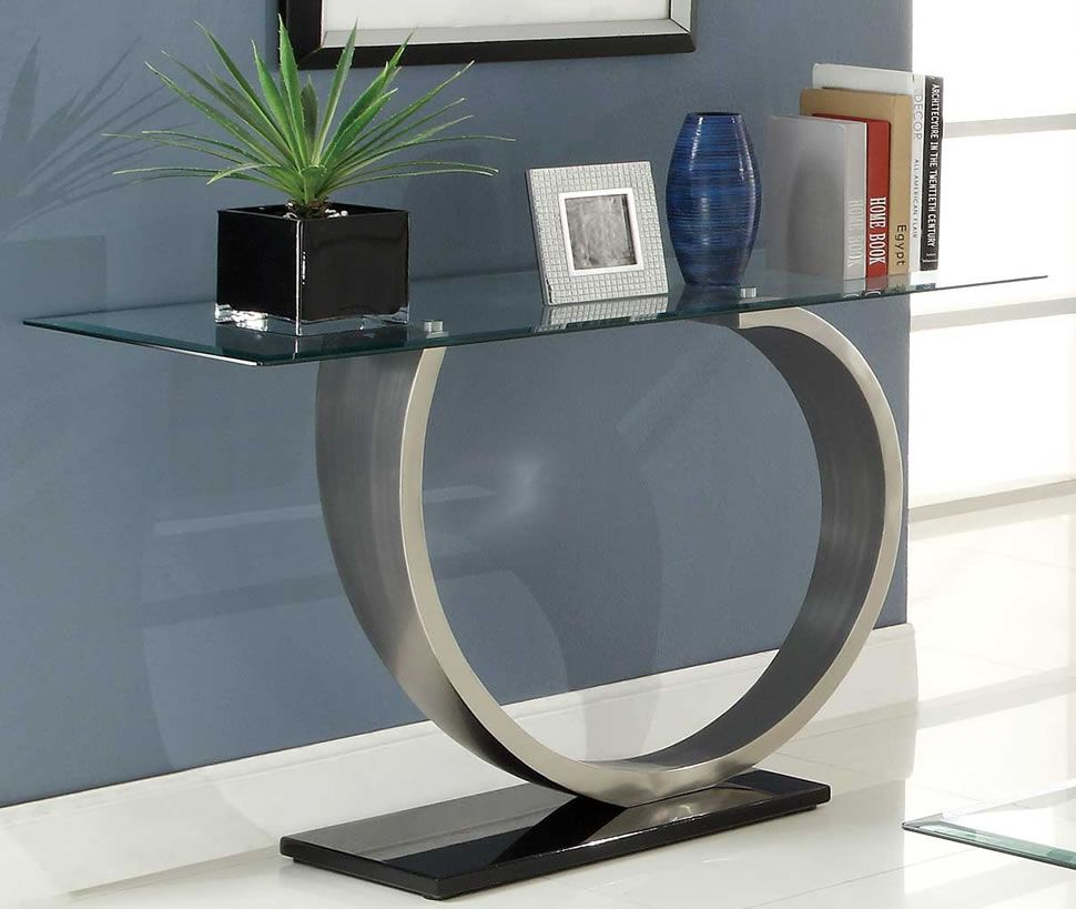 Glass Sofa Table Modern Modern Console Tables Contemporary