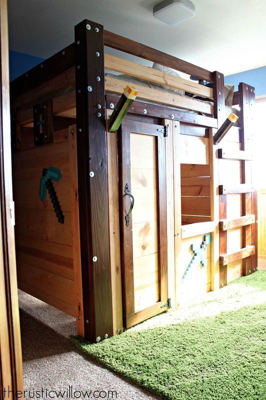 Diy Fort Bed For Children S Bedroom Ideas How To Woodworking Projects