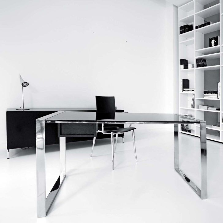 Office Black And White Color Interior Office Design gallant