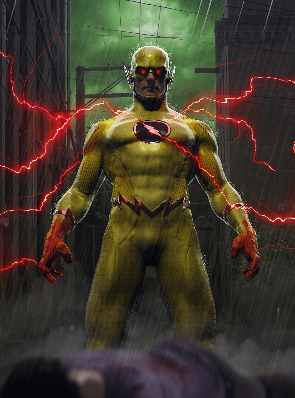Artstation Reverse Flash Jared France Reverse Flash Flash Wallpaper Drawing Superheroes