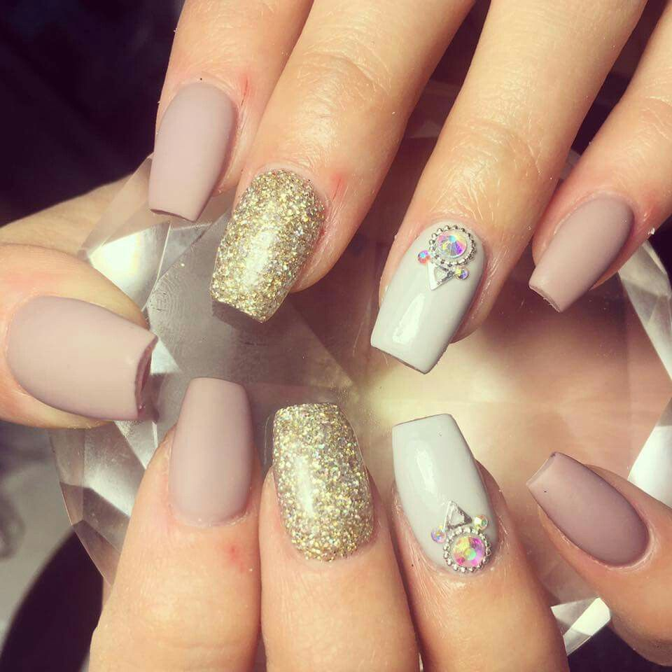 Love this set #nude #nails INSTAGRAM @ETHEREALBEAUTY_BYCHANTEL ...