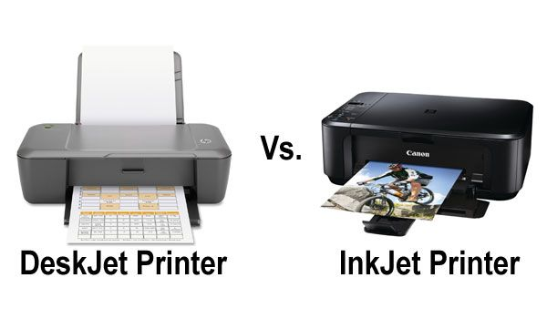 Differences Between Inkjet And Deskjet Printers Deskjet Printer Inkjet Printer Printer