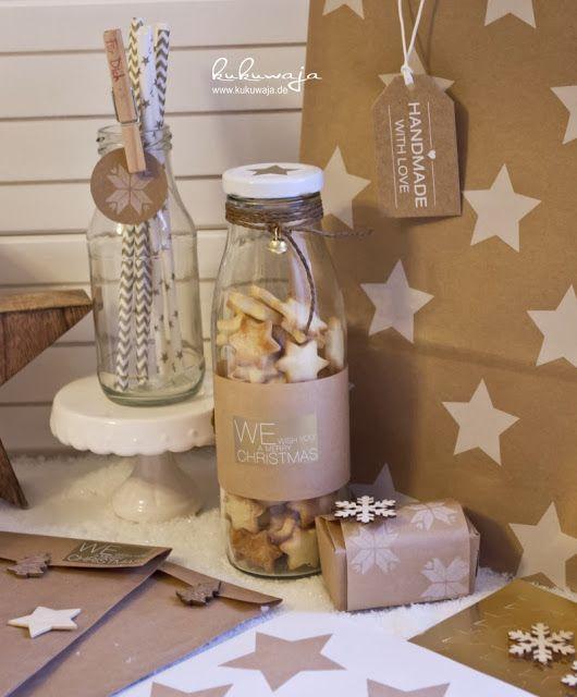 Weihnachtsgebäck Verpacken.Weihnachtskekse Schön Verpackt Weihnachtsgebäck Küche