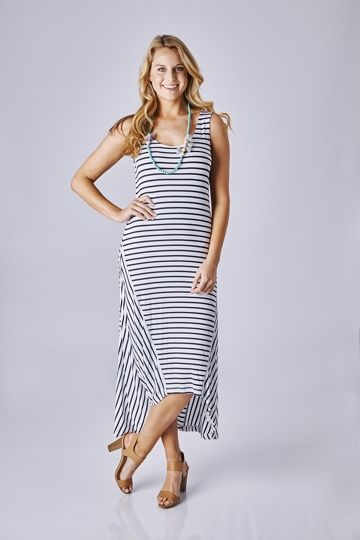 Metalicus summer maxi dress
