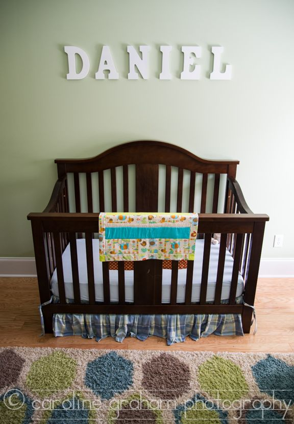 Oooh Baby; Baby Daniel's nursery