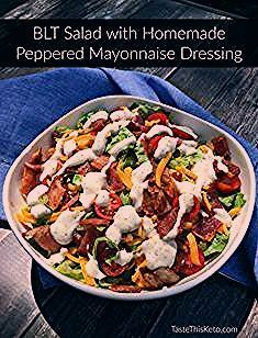 All the flavor of a BLT in salad form plus it's keto friendly! The peppered mayonnaise dressing is my favorite!  All the flavor of a BLT in salad form plus it's keto friendly! The peppered mayonnaise dressing is my favorite! #ketofriendlysalads All the flavor of a BLT in salad form plus it's keto friendly! The peppered mayonnaise dressing is my favorite!  All the flavor of a BLT in salad form plus it's keto friendly! The peppered mayonnaise dressing is my favorite! #ketofriendlysalads All the fl #ketofriendlysalads