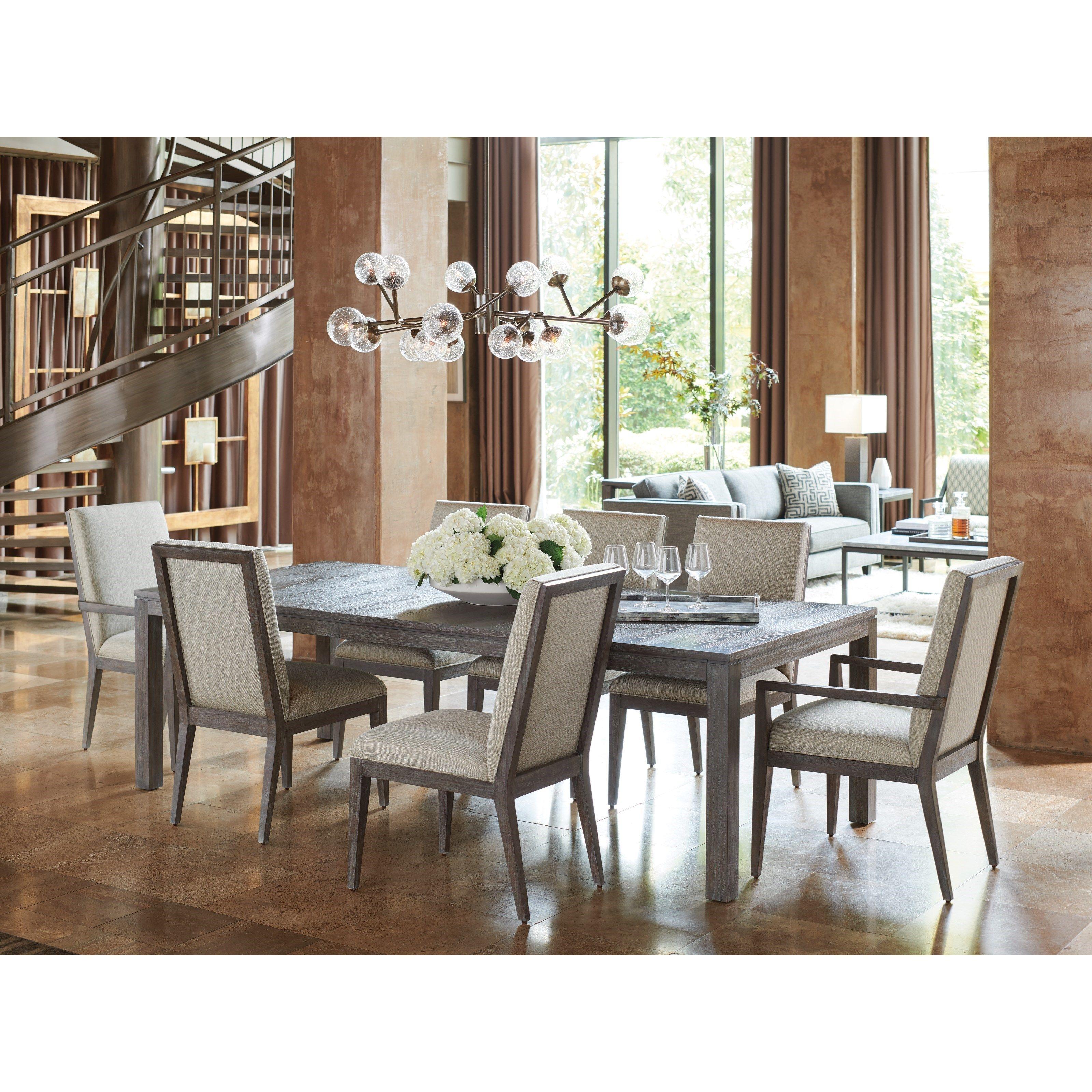Lexington Santana Nine Piece Dining Set With Marin Table Baer S