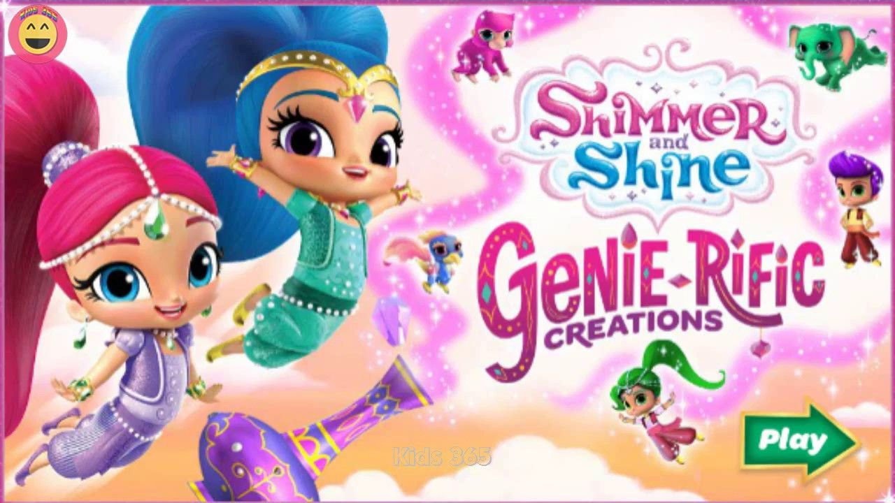 Shimmer And Shine Letter Drop - Shimmer And Shine Games