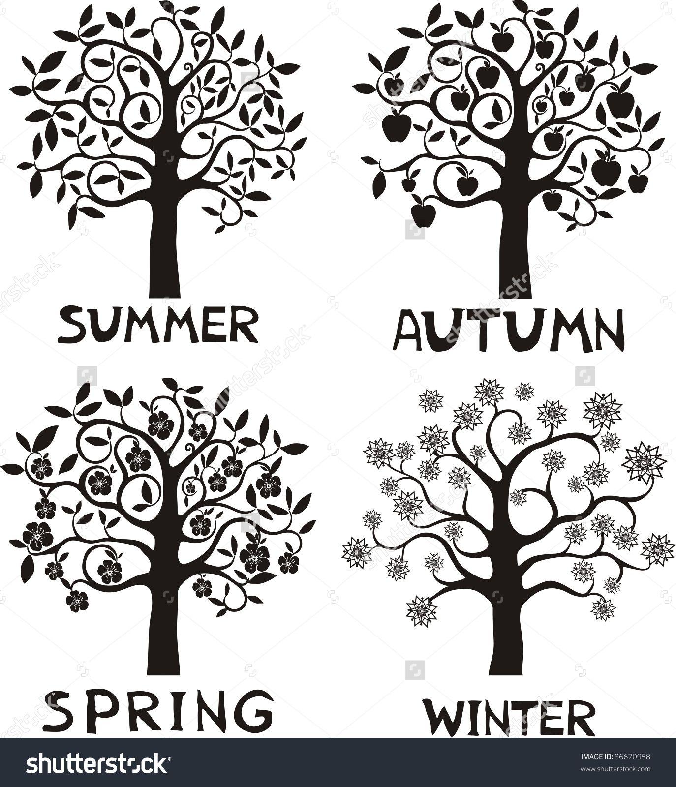 Four Seasons Tree Worksheet