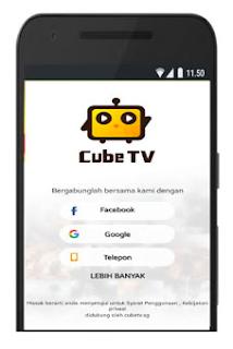 Cara Mudah Mendapatkan Uang Lewat Cube Tv Hanya Live Streaming Dibayar Bagaimana Cara Mendapatkan Uang Dari Cube Tv Nah Pertanyaan In Uang Remaja Aplikasi