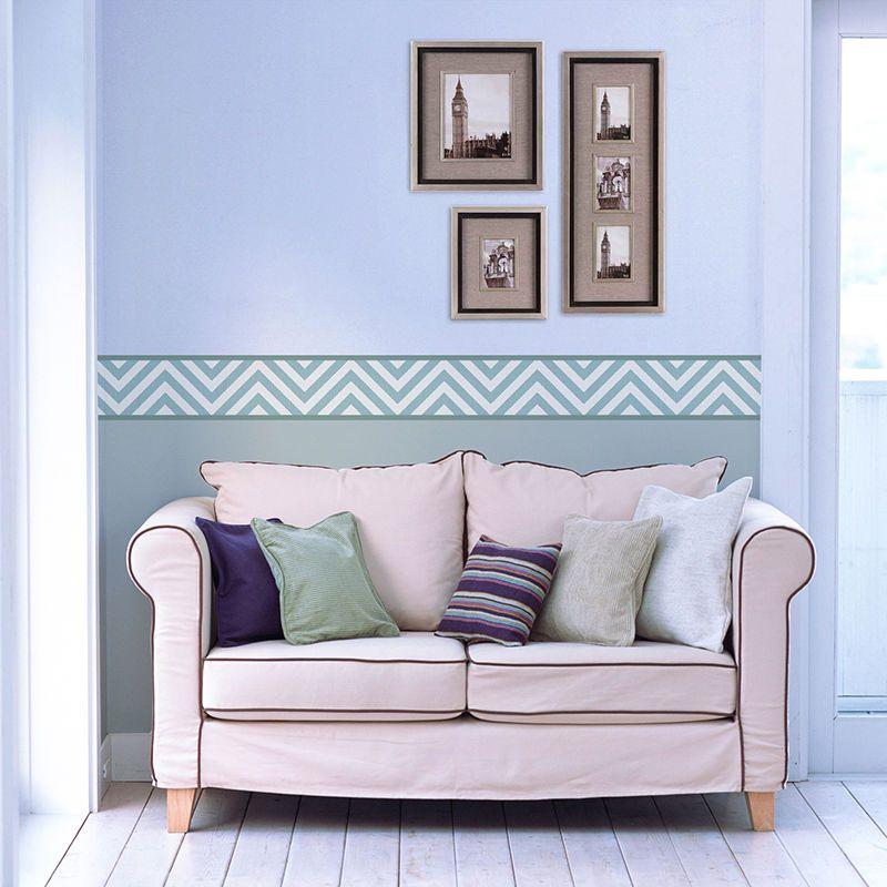 High Quality Custom Printed Wallpaper Border. Wallpaper BordersLiving Room ... Home Design Ideas