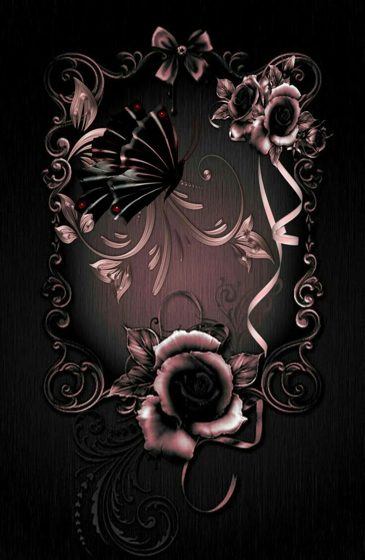 Pin By Sandy Earle On Ani Gold Wallpaper Iphone Flower Phone Wallpaper Gothic Wallpaper