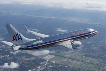 American Airlines 757-300 sporting the air carrier's soon to