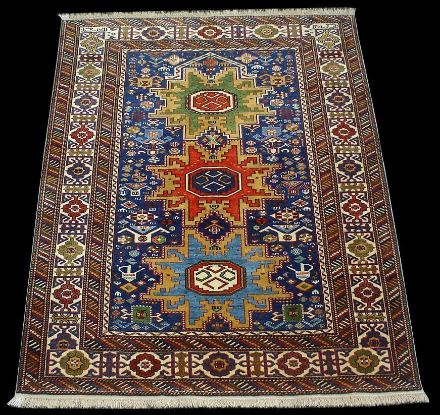 Tappeto Lesghi Caucasico;Caucasian Kuba Lesghi Star rugs