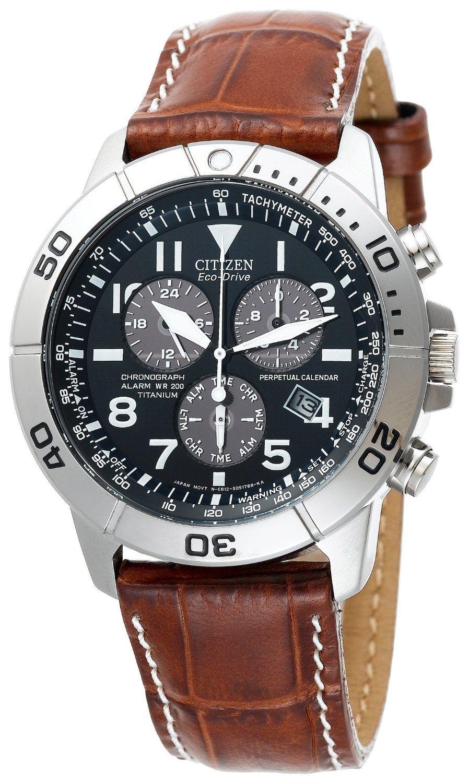 citizen men s eco drive perpetual chronograph watch leather citizen men s eco drive perpetual chronograph watch